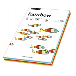 Colored paper 80g - Rainbow - intense colors, A4, 100 sheets