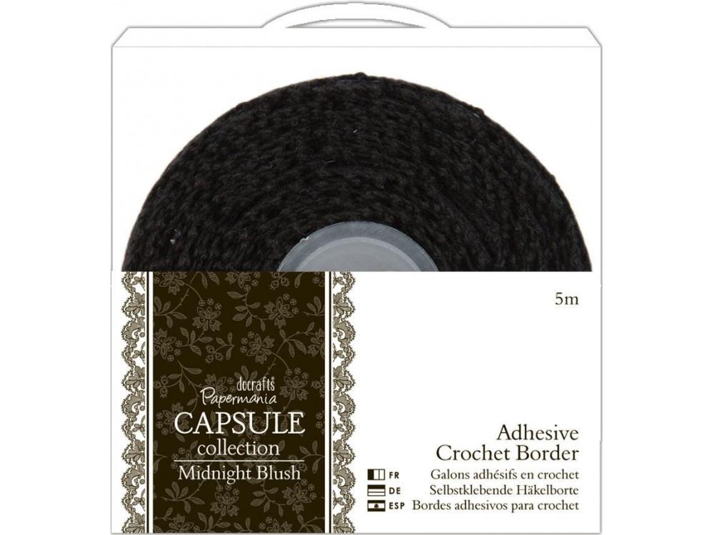 ADHESIVE CROCHET BORDER - PAPERMANIA - CAPSULE MIDNIGHT BLUSH, 5 M