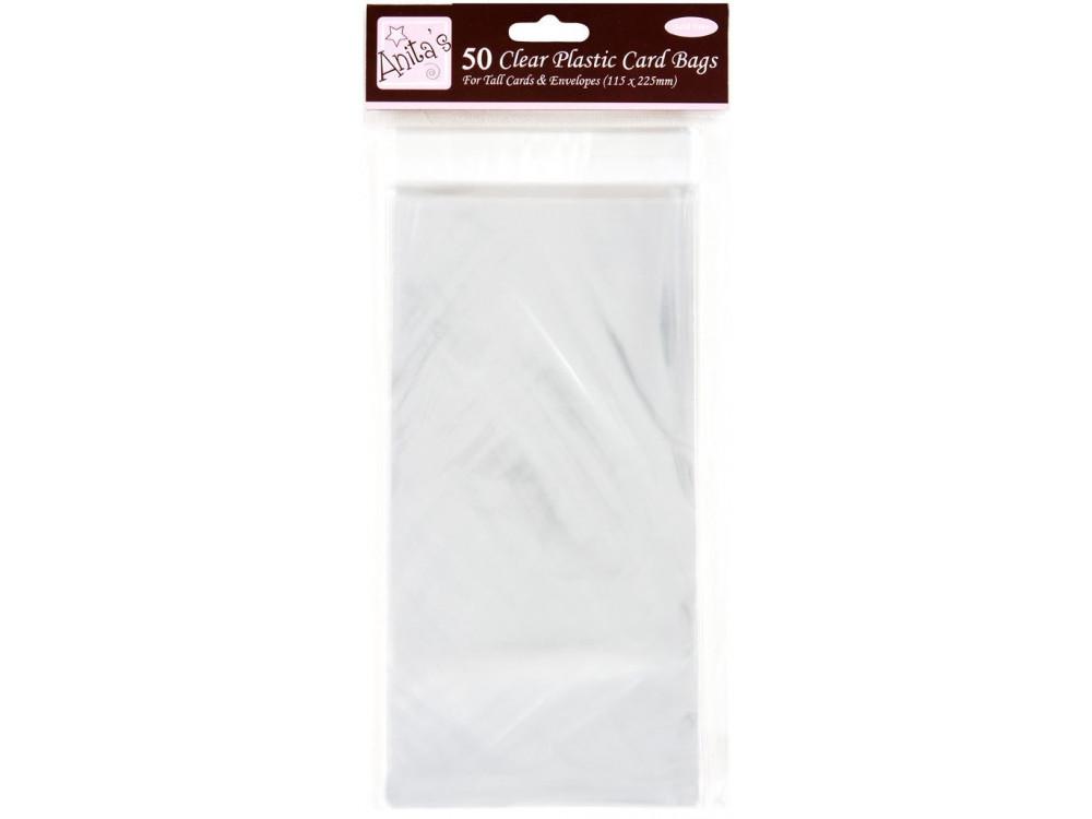 Clear plastic bags DL - Anita's - 50 pcs.