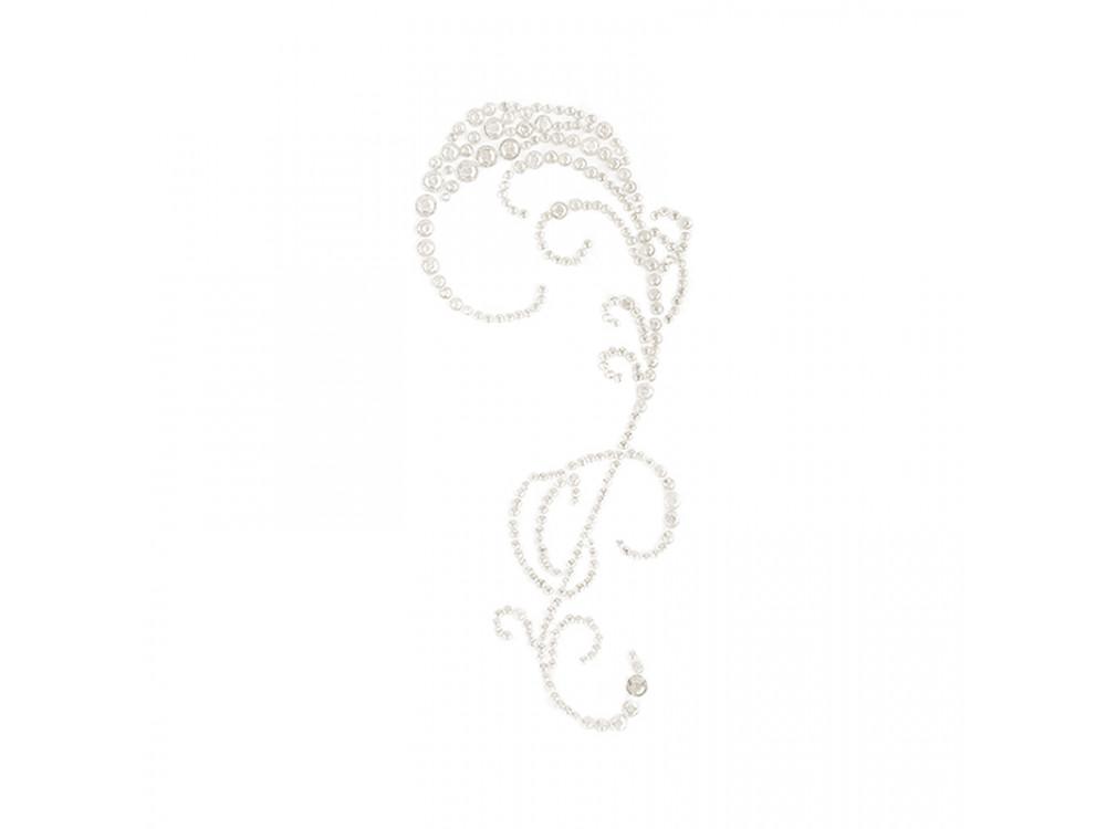 Perłowy dekor samoprzylepny - DpCraft - Amelia White