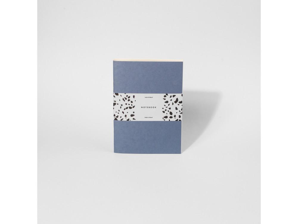 Set of plain notebooks - Suska & Kabsch - Vintage, 80 g, 3 pcs.