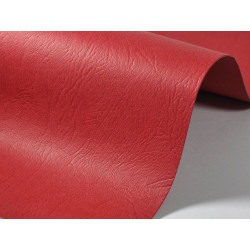 Leather Textured Paper 300g - skin, red, A4, 20 sheets