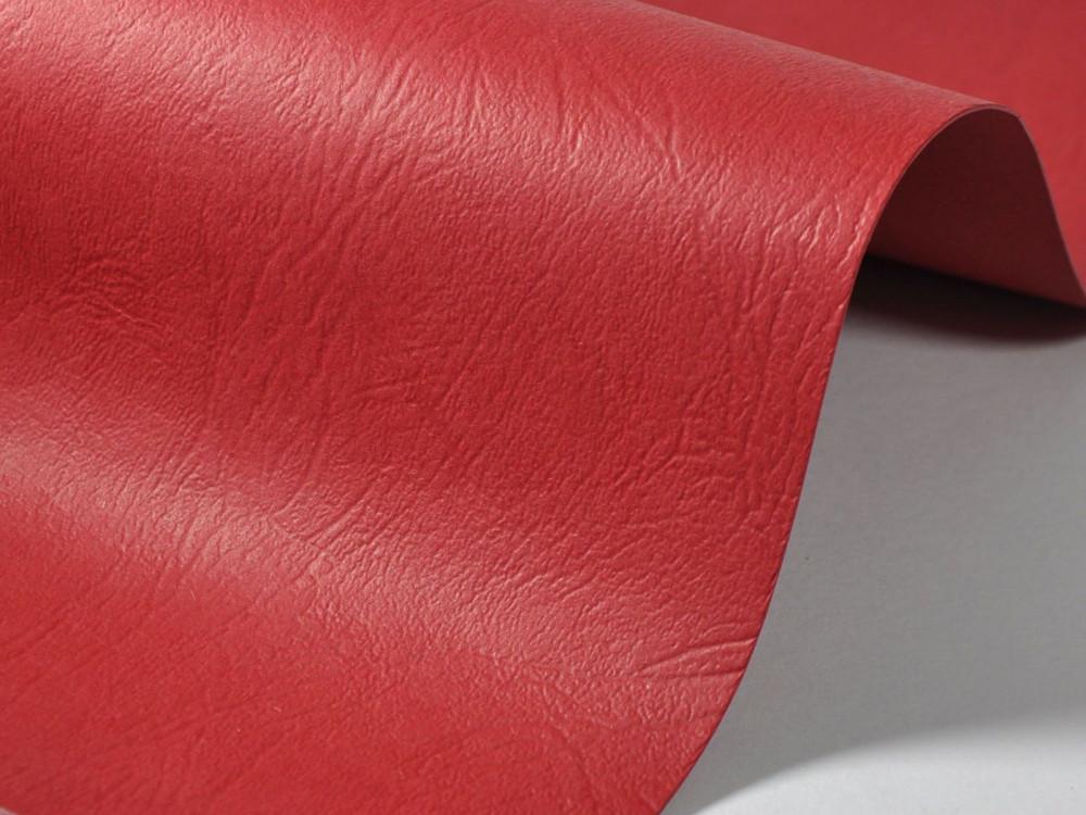 Papier fakturowany 300g - skóra, czerwony, A4, 20 ark.