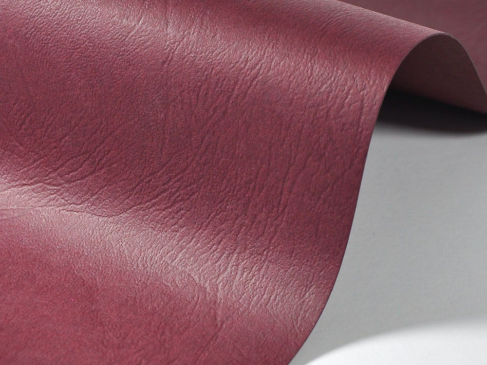 Papier fakturowany 300g - skóra, fioletowy, A4, 20 ark.