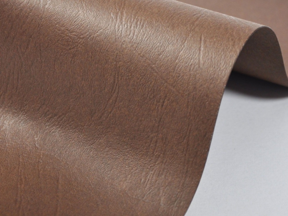 Papier fakturowany 300g - skóra, brązowy, A4, 20 ark.