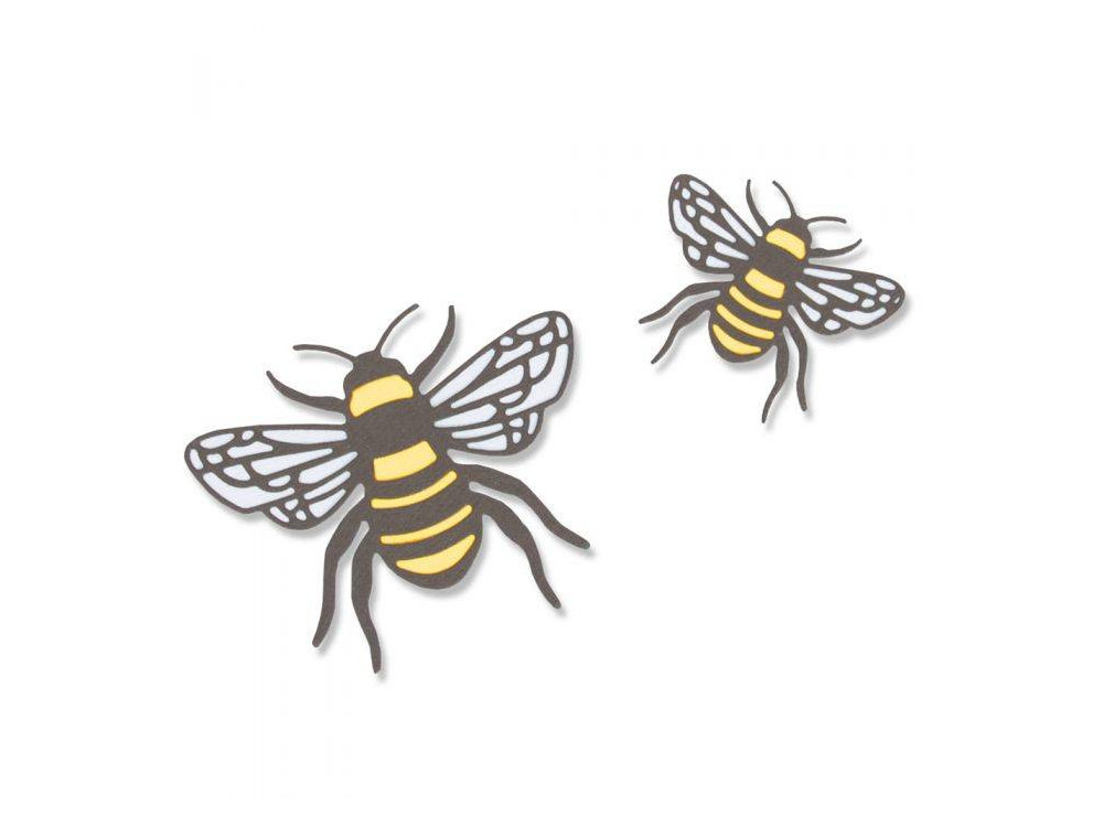 Thinlits cutting die - Sizzix - Bee, 4 pcs.