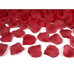Płatki róż w woreczku - czerwone, 500 szt.