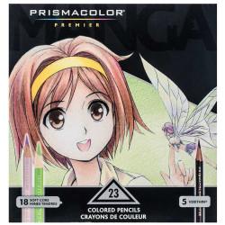 Manga Premier pencils set - Prismacolor - 23 colors
