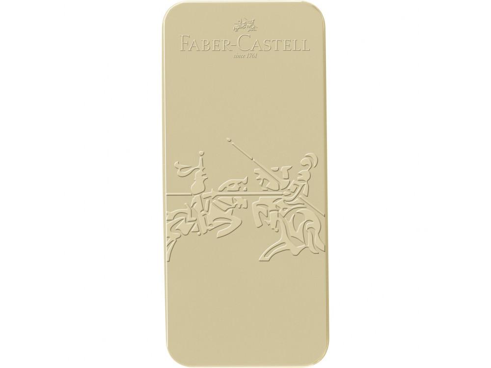 Gift set of fountain pen and ballpoint pen Grip 2011 - Faber-Castell - Gold