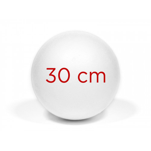 Kula styropianowa 30 cm