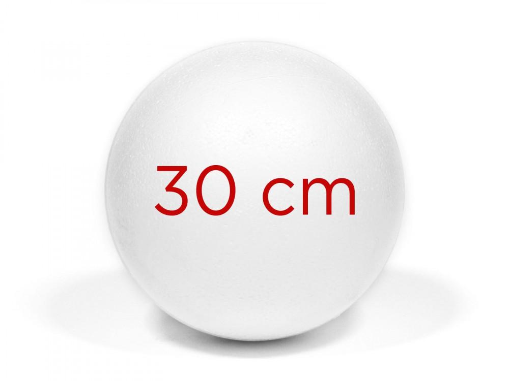 Styrofoam ball - 30 cm