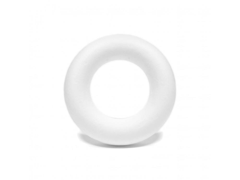 Styrofoam ring - 13 cm