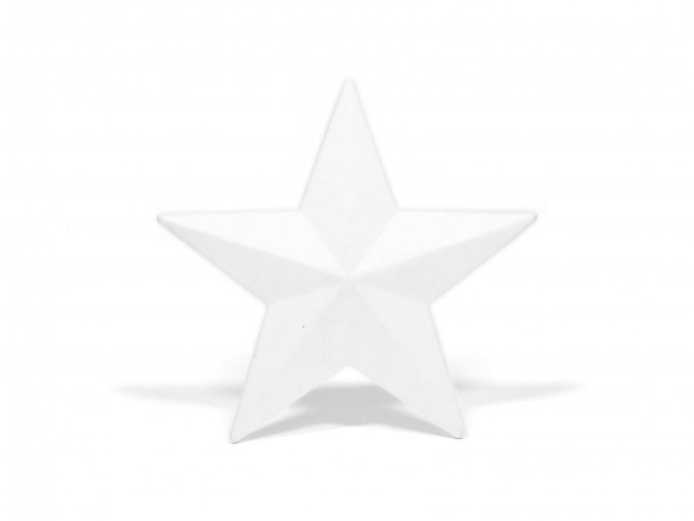 Styrofoam star - 13 cm