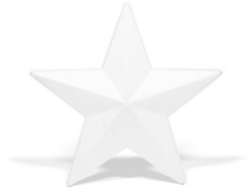 Gwiazda styropianowa - 20 cm