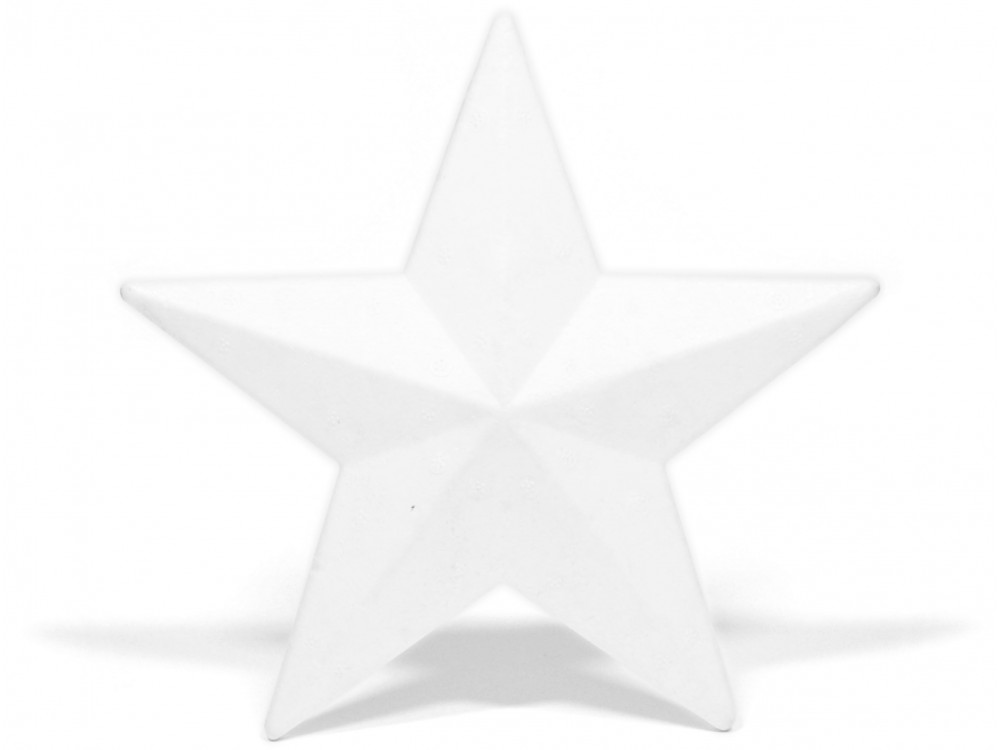 Styrofoam Star - 20 cm