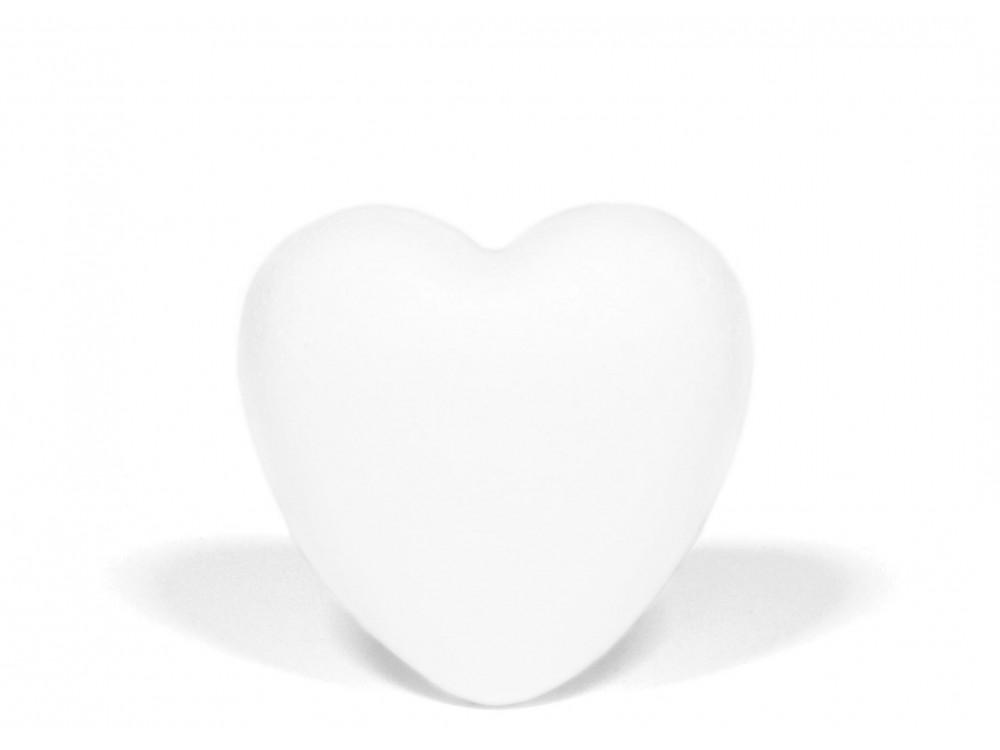 Serce styropianowe - pełne, 6 cm