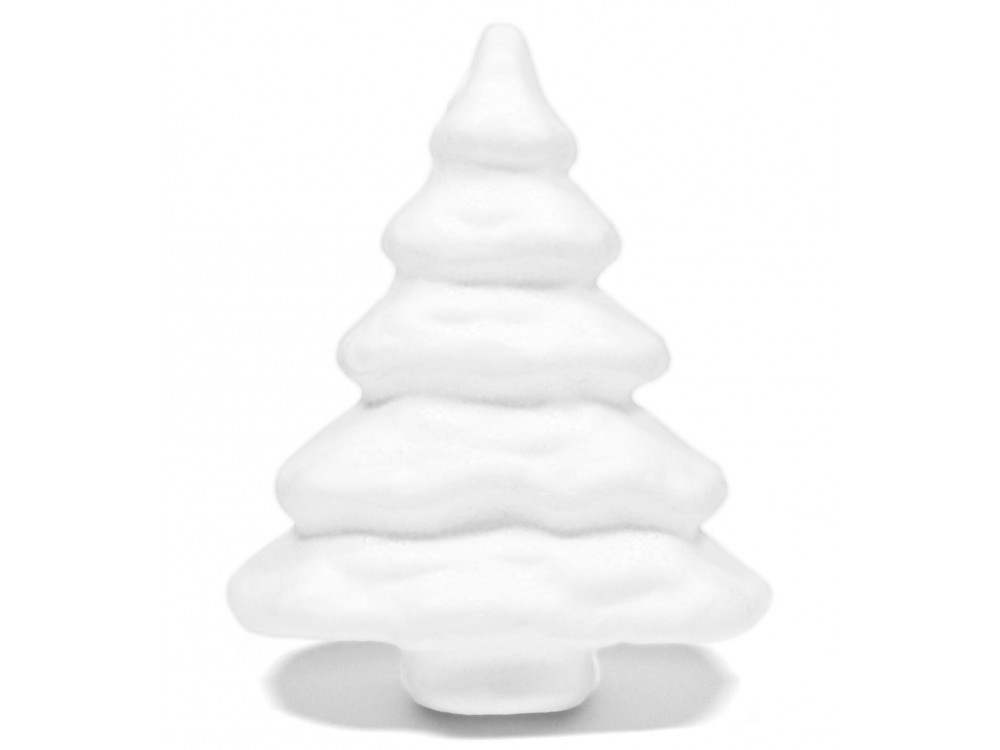 Styrofoam Christmas Tree - 15 cm