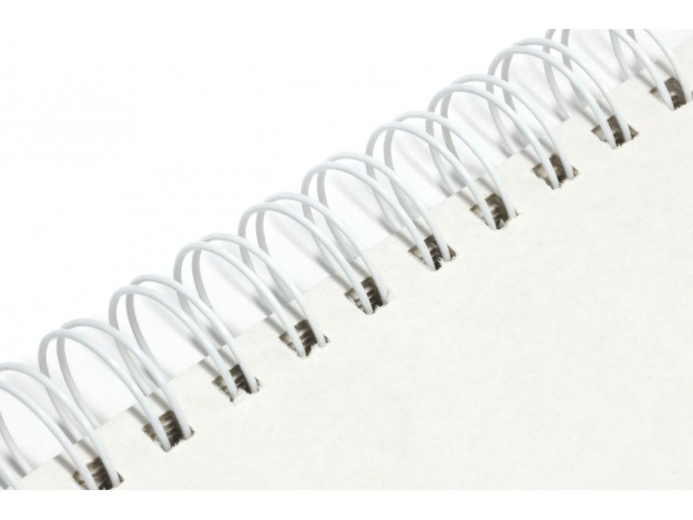 Baza do albumu 15 x 15 cm - Simply Crafting - biały grzbiet, 12 kart