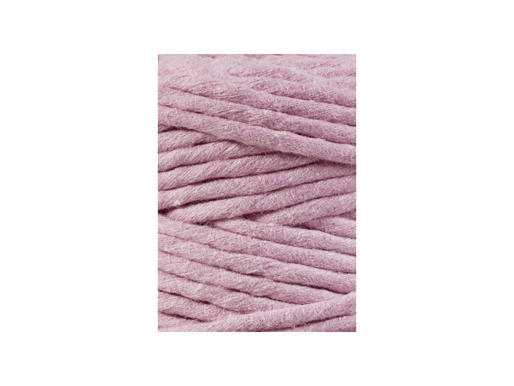 Cotton cord for macrames - Bobbiny - Dusty Pink, 1,5 mm, 100 m