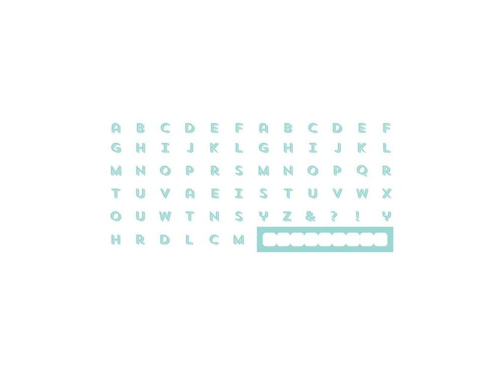 Szablony Letterpress - Block