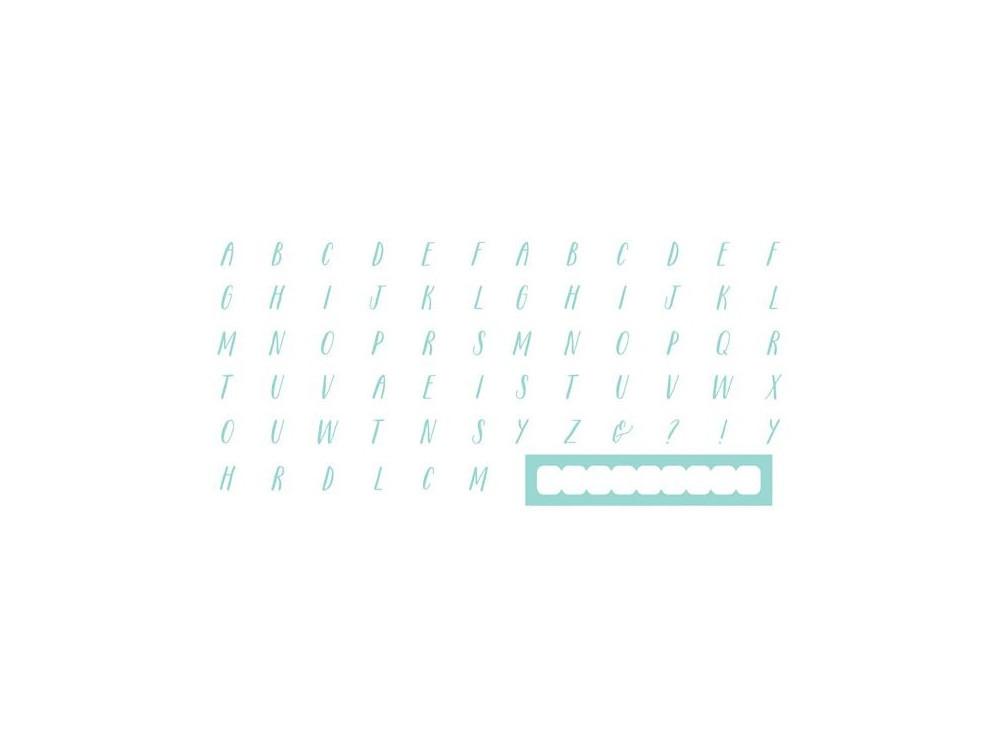 Szablony Letterpress - Handwritten