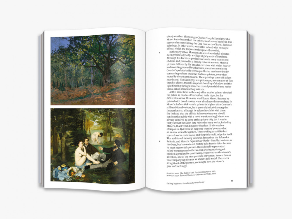 Book - World of Art. Claude Monet