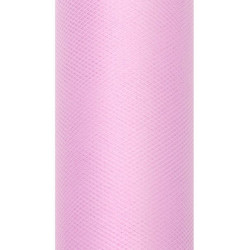 Decorative Tulle 15 cm x 9 m 081 Light Pink