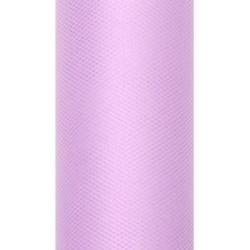 Tiul dekoracyjny 15 cm - lawendowy, 9 m