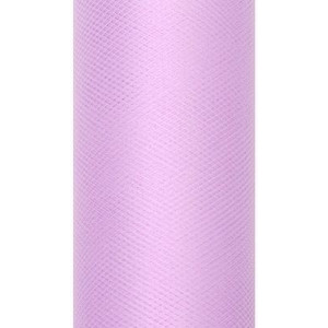 Tiul dekoracyjny 15 cm x 9 m lawenda 002
