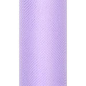 Tiul dekoracyjny 15 cm x 9 m liliowy 004