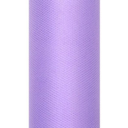 Decorative Tulle 15 cm x 9 m 014 Violet