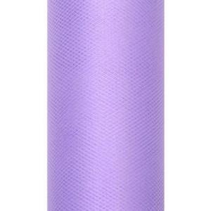 Tiul dekoracyjny 15 cm x 9 m fiolet 014