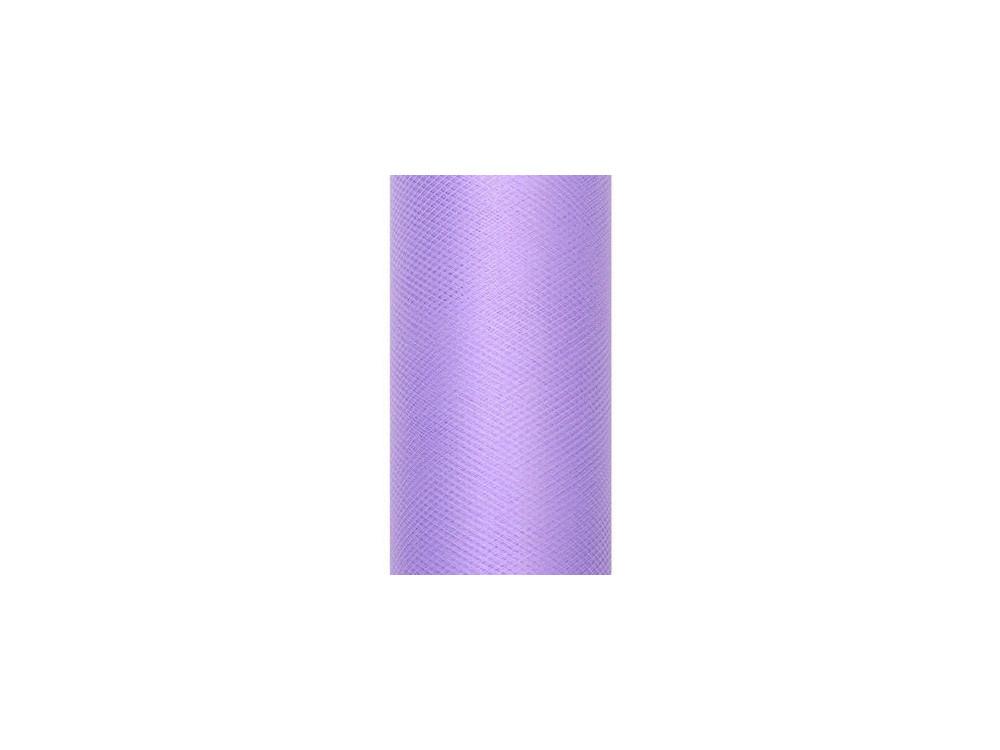 Tiul dekoracyjny 15 cm - fioletowy, 9 m