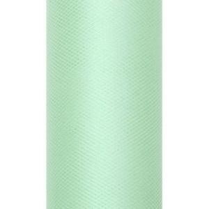 Tiul dekoracyjny 15 cm x 9 m miętowy 103