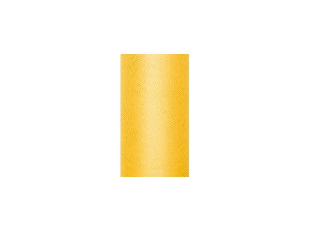 Decorative Tulle 15 cm x 9 m 009 Yellow