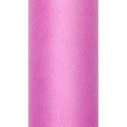 Decorative Tulle 30 cm x 9 m 006 Pink