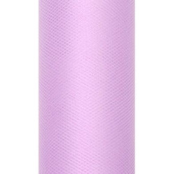 Decorative Tulle 30 cm x 9 m 002 Lavender
