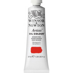 Oil paint Artists' Oil Colour - Winsor & Newton - Winsor Red, 37 ml