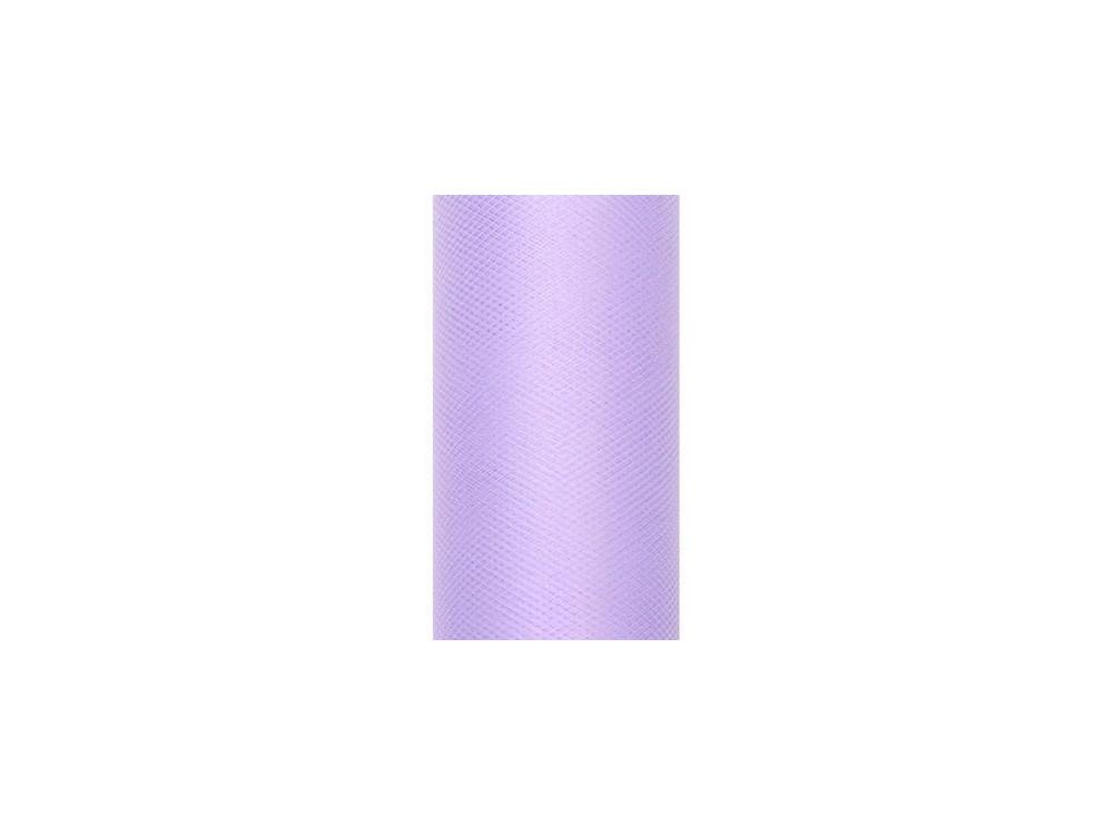 Tiul dekoracyjny 30 cm - liliowy, 9 m