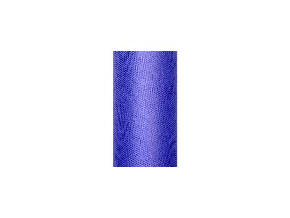 Tiul dekoracyjny 30 cm - granatowy, 9 m
