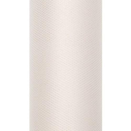 71d2f6f9 Tiul dekoracyjny 50 cm - kremowy, 9 m