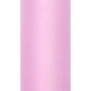 Tiul dekoracyjny 50 cm x 9 m j. róż 081