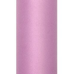 Tiul dekoracyjny 50 cm - pudrowy róż, 9 m