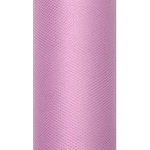 Tiul dekoracyjny 50 cm x 9 m pudrowy 081P