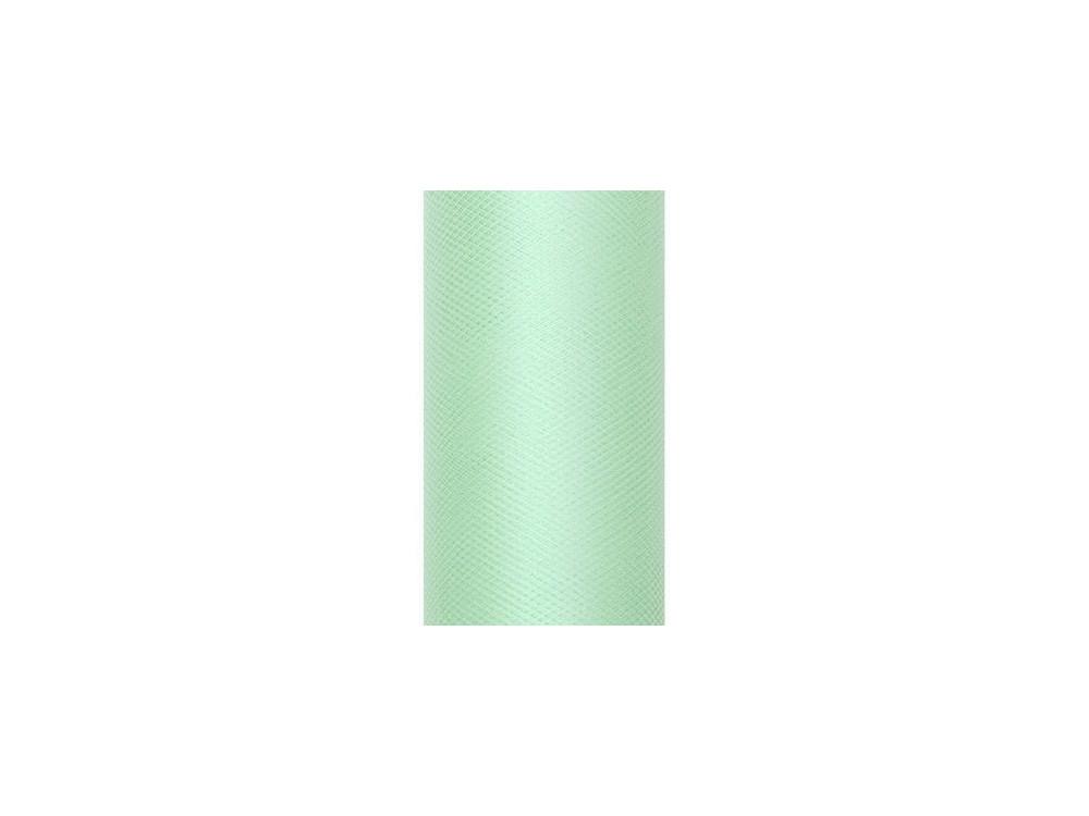 Tiul dekoracyjny 50 cm - miętowy, 9 m