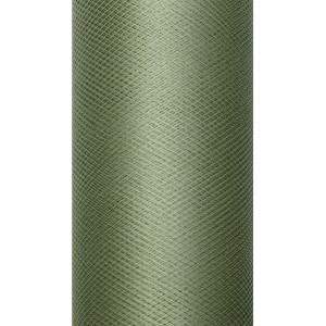 Tiul dekoracyjny 50 cm x 9 m zielony 012