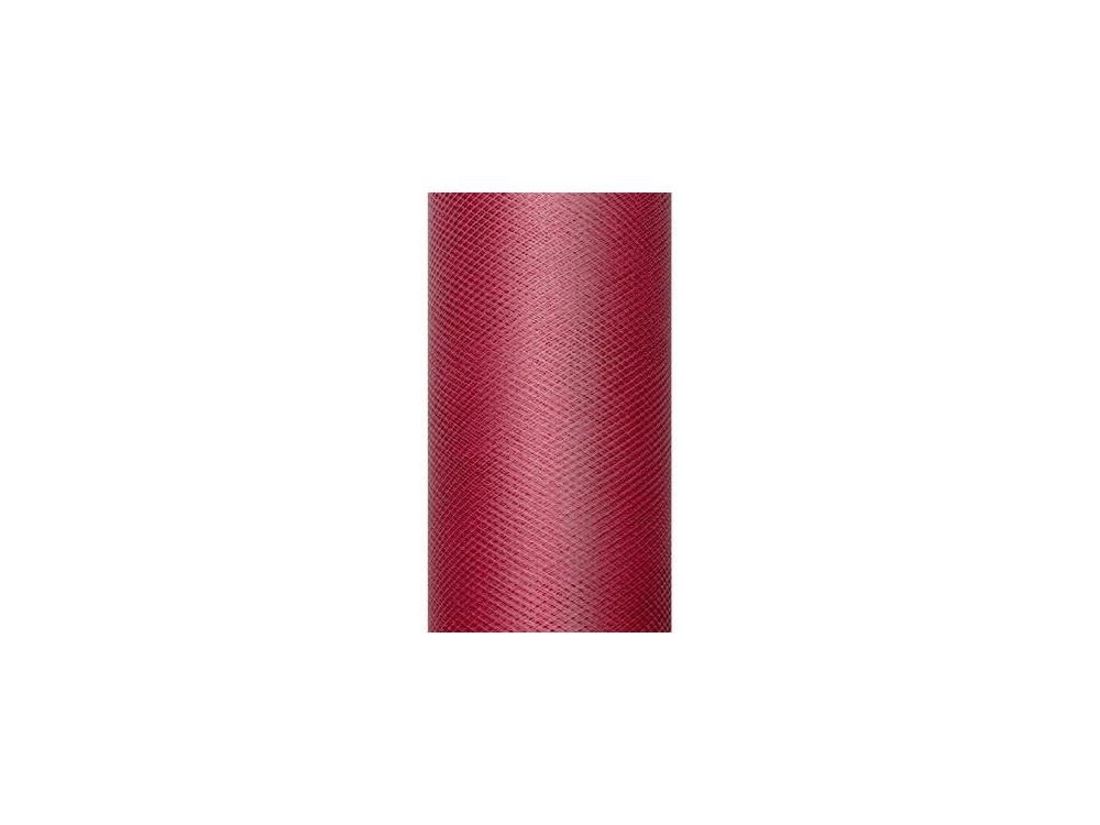Decorative Tulle 50 cm x 9 m 082 Deep Red