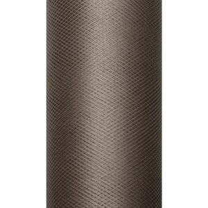 Tiul dekoracyjny 50 cm x 9 m brąz 032