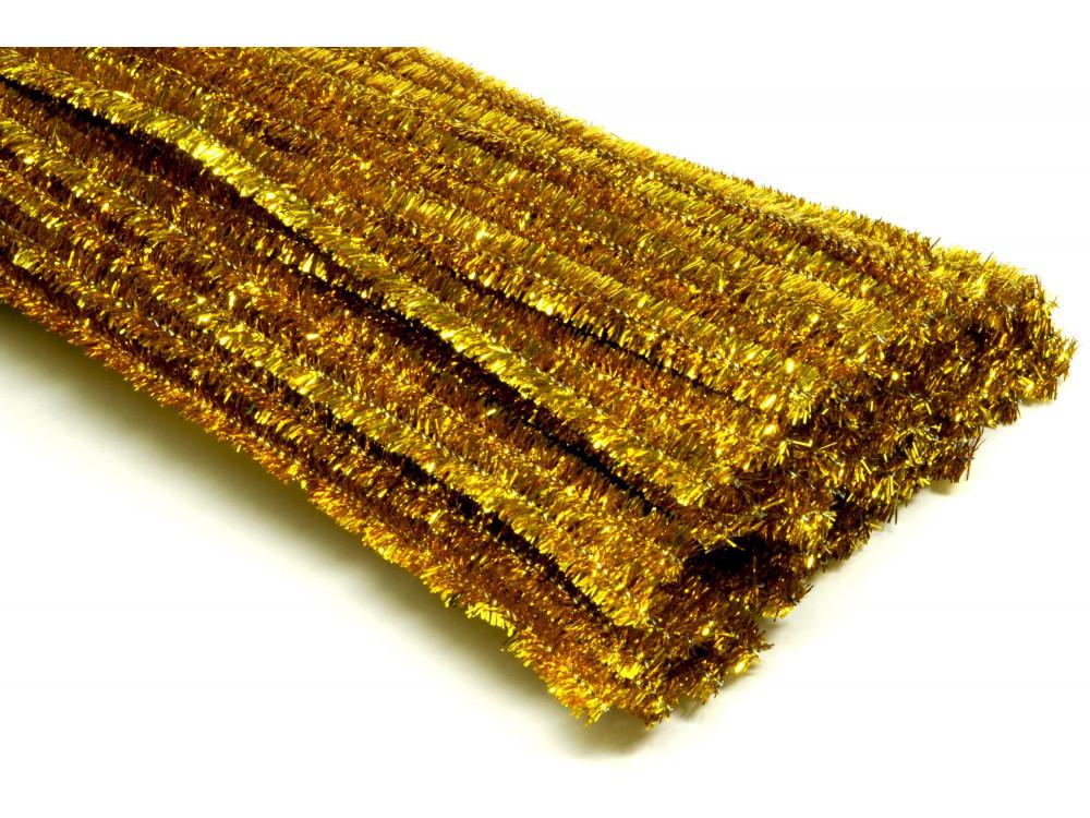 Druciki kreatywne, metalizowane - 30 cm, 100 szt.