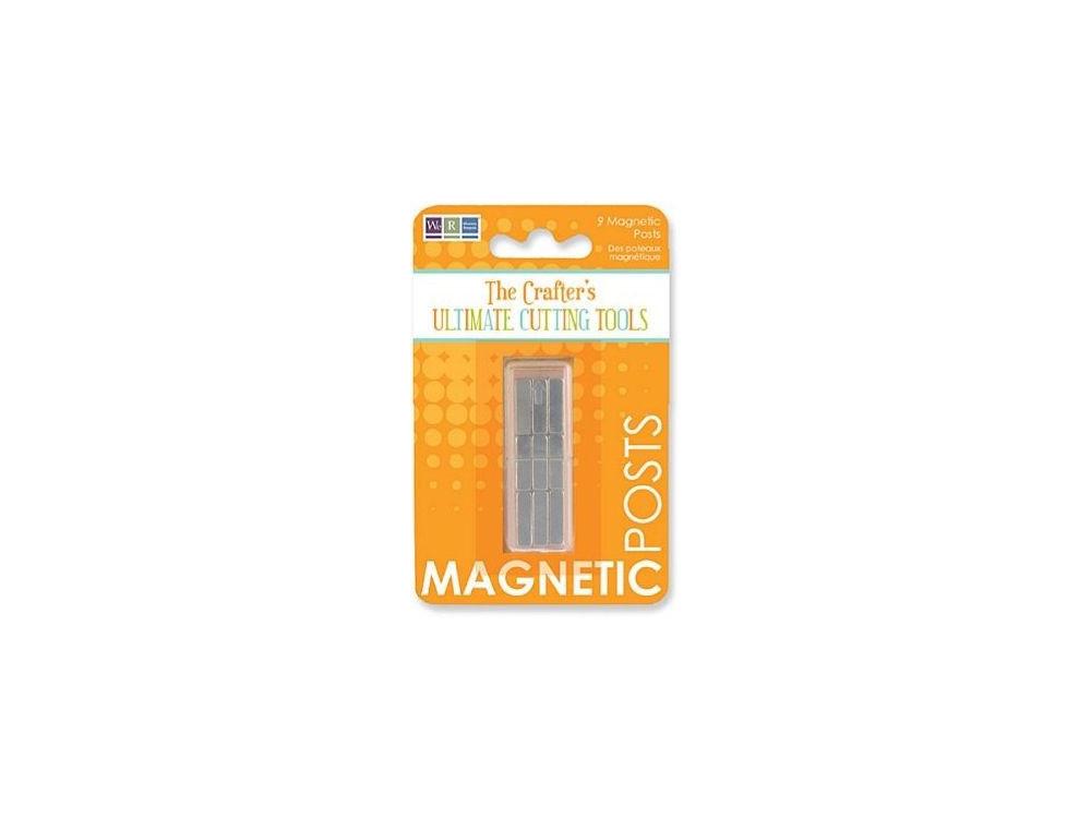 Punkty magnetyczne, magnesy - We R - 9 szt.